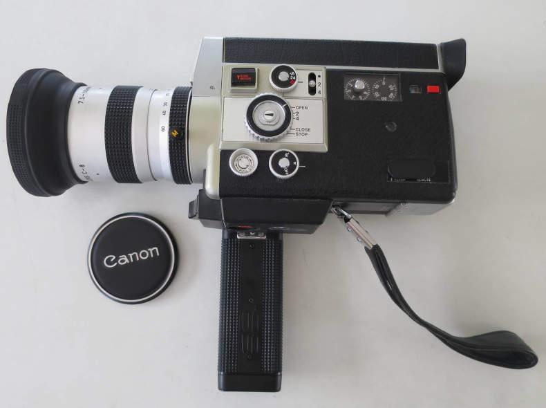 11437 Vintage 8mm Kamera - Canon 814