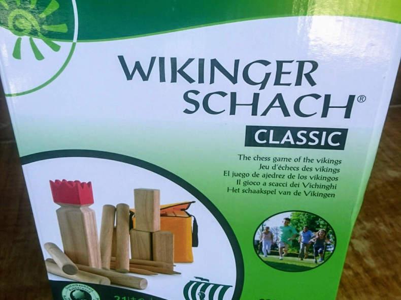 11492 Wikingerschach Kubb Carromco