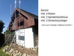 11544 Maler-, Baugerüst, Rollgerüst 7m