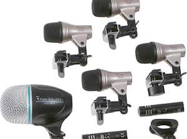 11545 T-bone DC 1500 Drum Mikrofone Set
