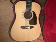 11546 Ibanez 12 Saiten Gitarre Akustik