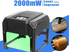 11547 2000 mw USB Desktop Laser Gravierer