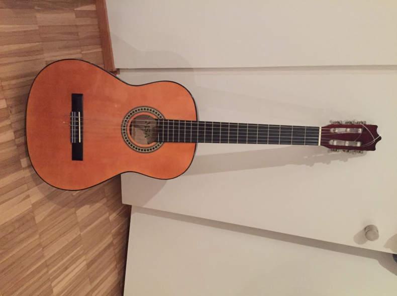 11576 Gitarre in Zürich Milchbuck