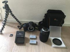 11577 Nikon D5600 inkl Zubehör