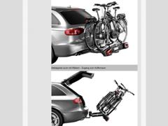 11583 Fahrradträger/Box für Anhängerkup.