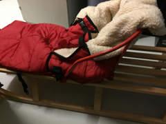 11673 Davoser Schlitten, Kindersitz, Sack