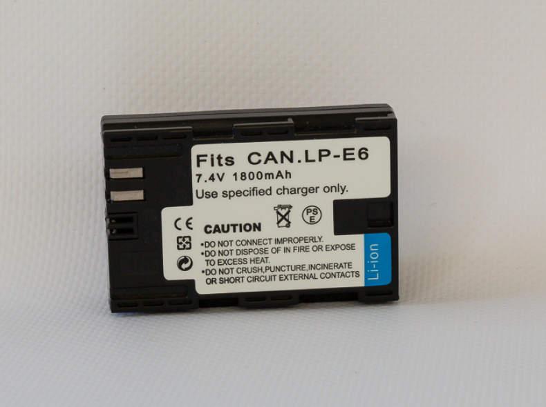 11766 Ersatzakku zu Canon 60D