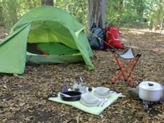 11832 Zelt und CampingSet für 2 Personen