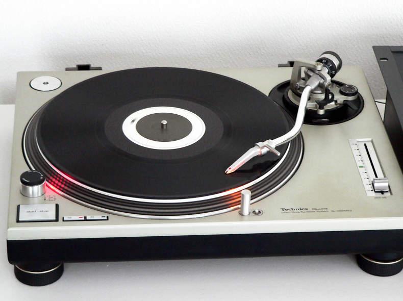 11848 Technics 1200MK2 DJ Plattenspieler