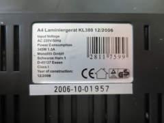 11879 A4 Laminiergerät
