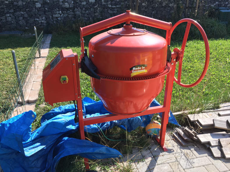 11940 Betonmischer 140 Liter