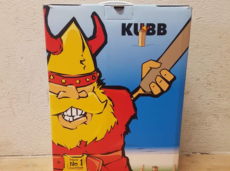 11992 Original KUBB Wurfspiel aus Holz