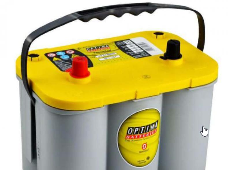 12026 Batterie 55 Ampere