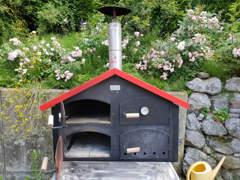 12082 Holzbackofen / Pizzaofen