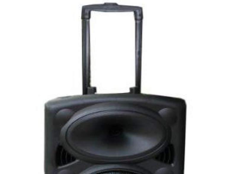 12318 Mobile Sound-Anlage mit Strom/Akku