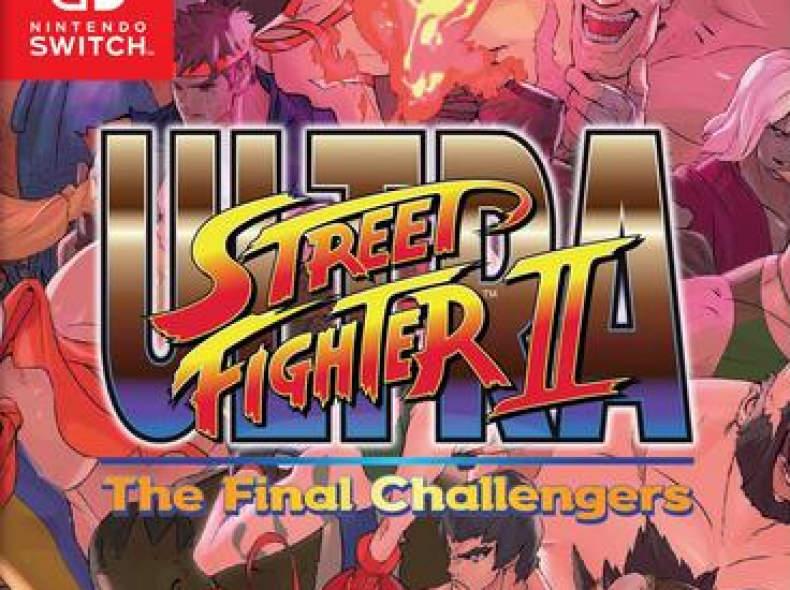 12456 Ultra Street Fighter II Nintendo