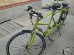 12612 Tandem - der grüne Hingucker