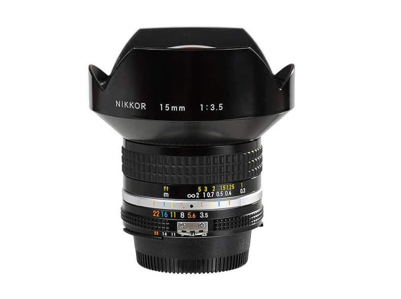 12742 Nikon 15mm f3.5 AI-s Nikkor
