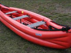 12770 Aufblasbares Kanu  Gummotex Scout