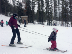 12868 Ski Lernhilfe / Ski Leine