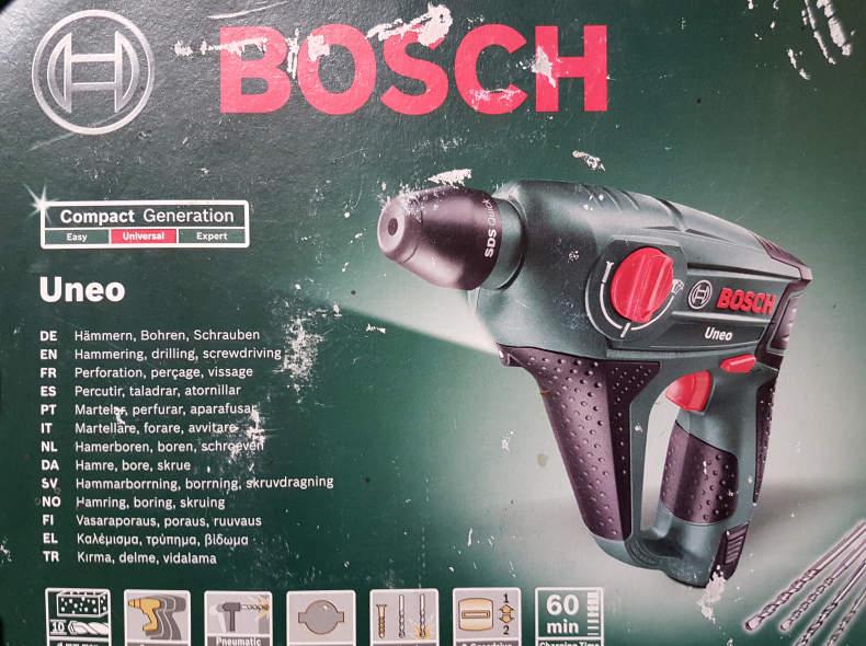 12950 Bosch Akku-Bohrhammer Uneo