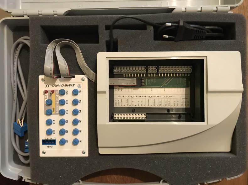 13027 UVR 1611 Testboard