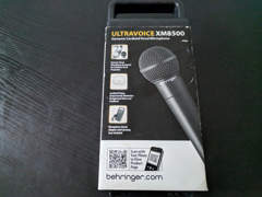 13029 Ultravoice XM8500 Mikrofon XLR