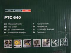 13081 Bosch Fliesenschneider PTC 640