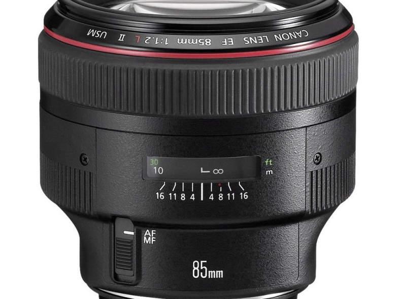 13161 Canon 85mm f/1.2 L