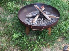 13188 Feuerschale in Rostoptik