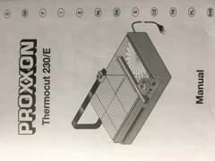 13590 Styrocut Proxxon Thermocut 230/E
