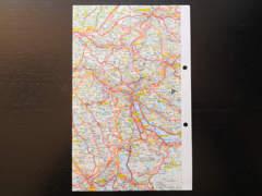 13730 Motorrad Reisekarten Alpen
