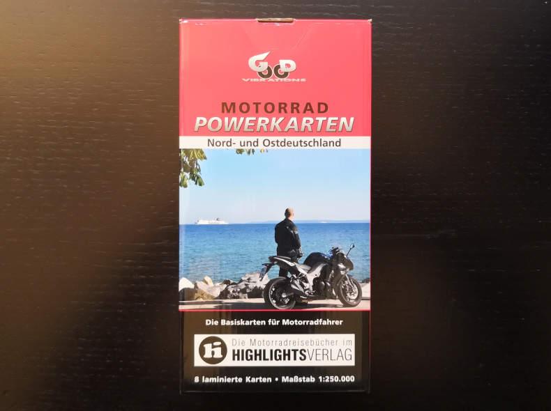 13732 Motorradkarten Nord-/Ostdeutschland