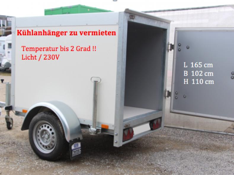 13831 Kühlanhänger bis 2 (!!) Grad