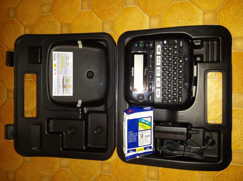 13868 Beschriftungsgerät P-Touch PT-D210