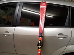 13913 Ski mit Stöcke Grösse 125cm
