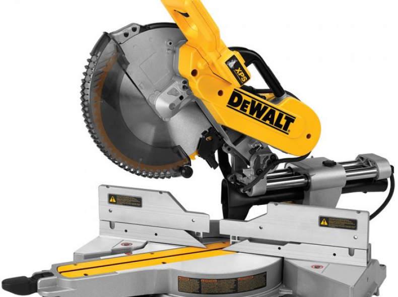 14017 DeWalt Paneelsäge-Set DWS780+DE 702