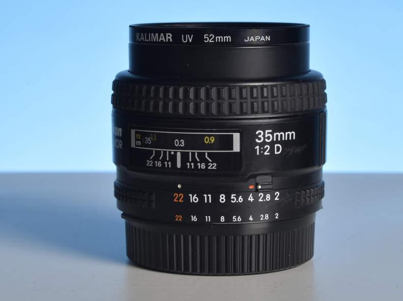 14037 Objektiv 35mm für Nikon