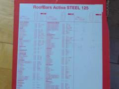 14057 Dachträger für Auto mit Reling