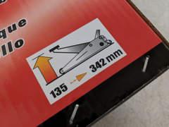 14066 Hydraulischer Wagenheber (2000kg)