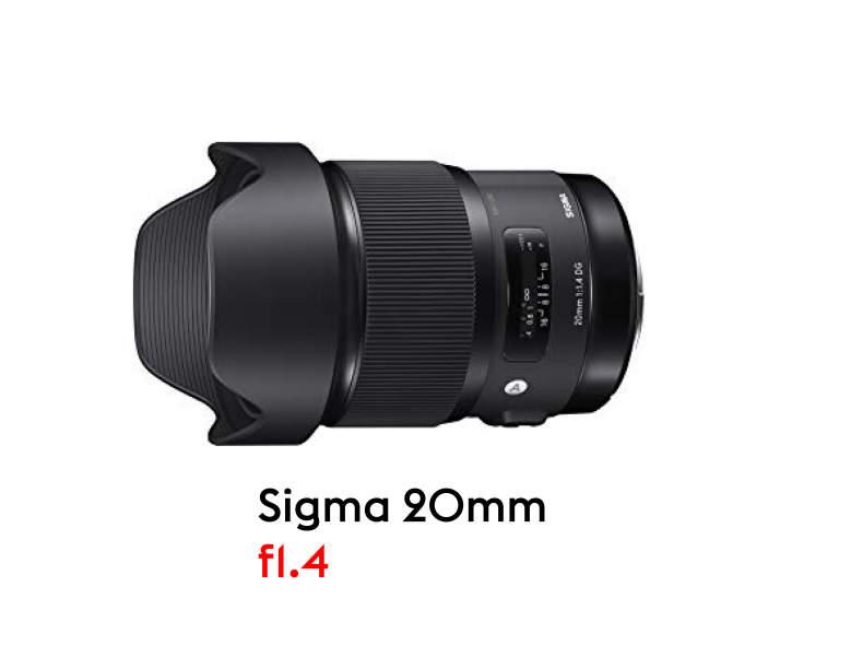 14148 Sigma 20mm 1.4 für Canon