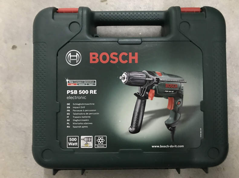 14256 Bosch Bohrmaschine PSB 500 RE