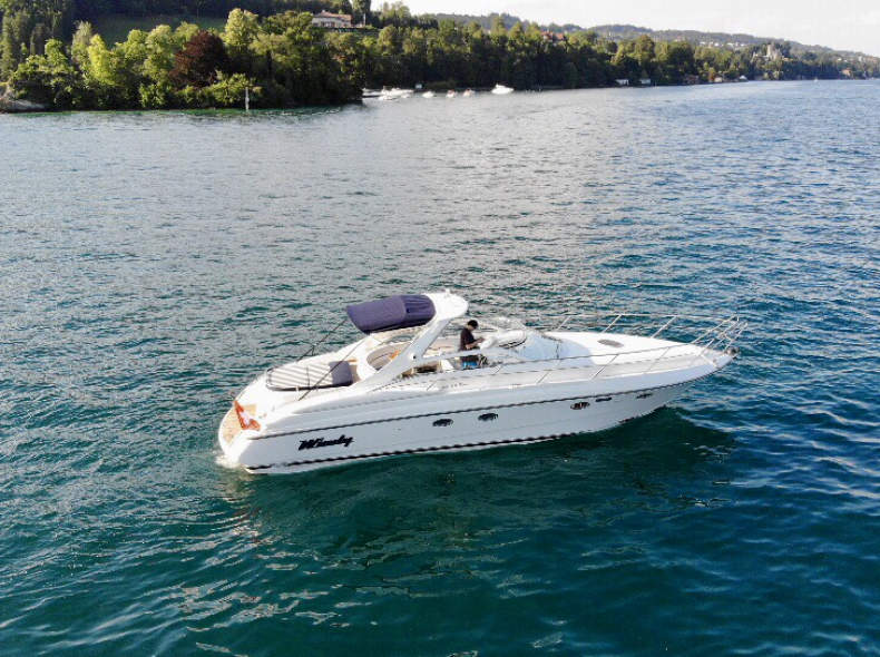 14287 Motorboot Vierwaldstättersee