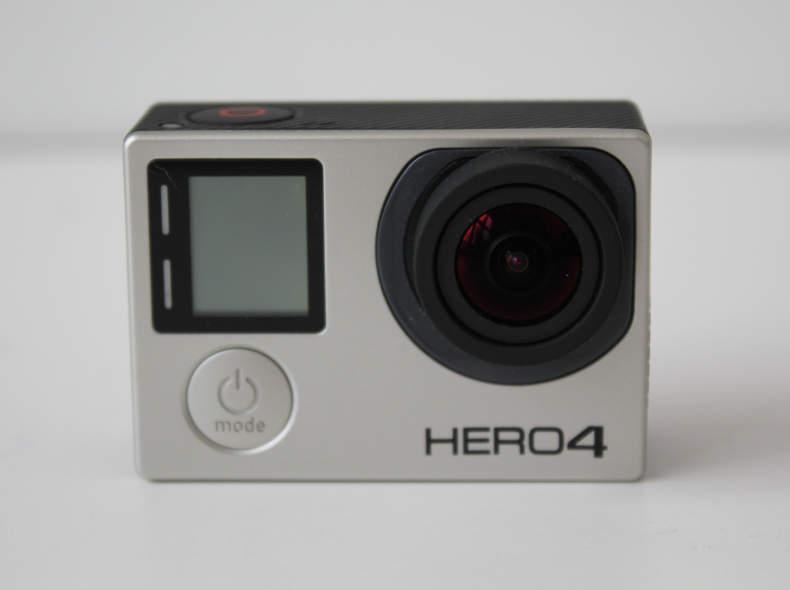 14435 Gopro Hero 4 black inkl. Equipment