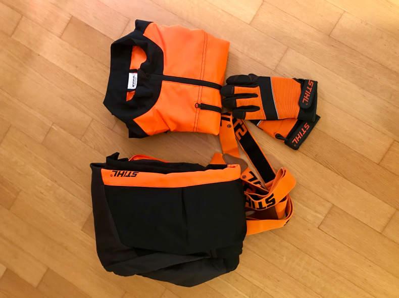 14456 Schnittschutzhose / Forstausrüstung