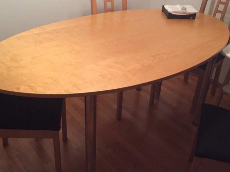 14505 ovaler Tisch