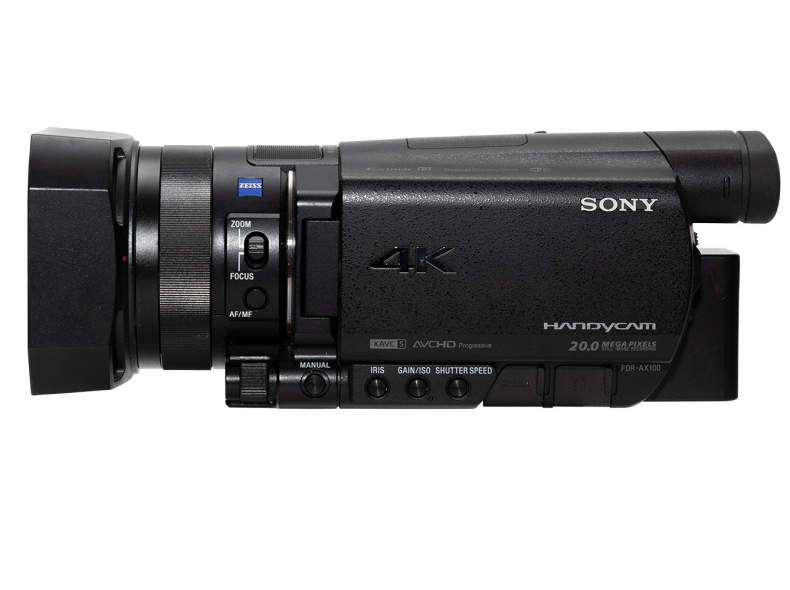 14548 Sony Videokamera FDR-AX100EB, 4K
