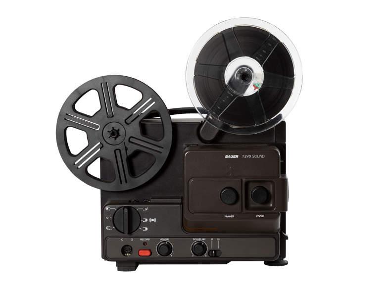 14590 Bauer Super-8 Projektor T240 Sound