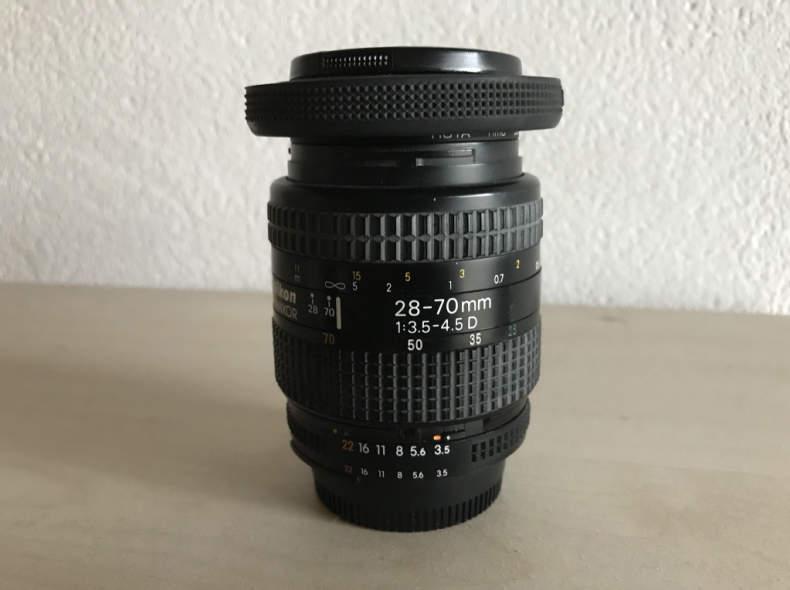 14686 Nikon 28-70mm 1:3.5-4.5 D
