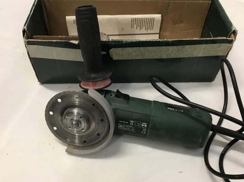 14710 Winkelschleifer 670W, Ø 115mm